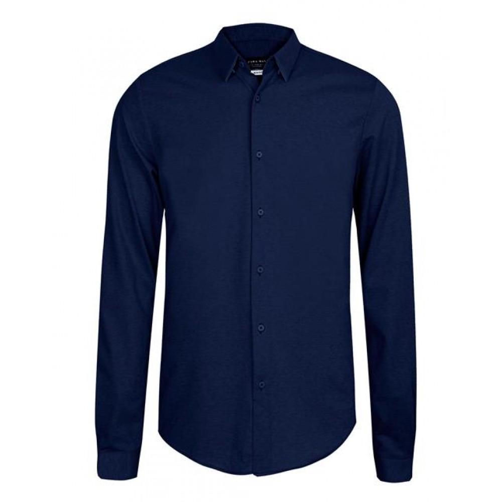 پیراهن مردانه سرمه ای Zara