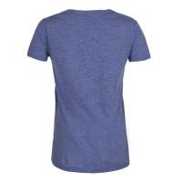تی شرت زنانه آبی ملانژ Joe fresh